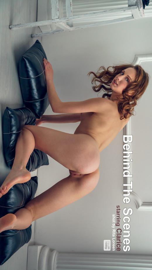 Clarice - `Behind The Scenes - Black Heels` - by Alex Lynn for ALEX-LYNN