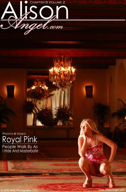 Alison Angel - `Royal Pink` - for ALISONANGEL