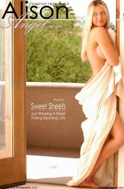 Alison Angel - `Sweet Sheets` - for ALISONANGEL
