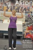 Alison Angel - A Workout for Alison