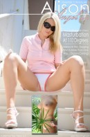 Alison Angel - Masturbation at 110 Degrees