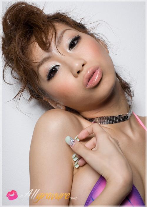 Mizusa Minami - `Tye Dye Tits` - for ALLGRAVURE