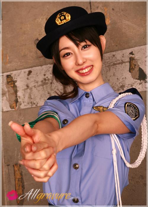Rina Akiyama - `Officer Rina` - for ALLGRAVURE