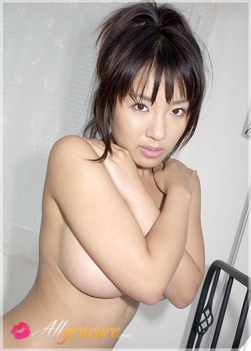 Megumi Kagurazaka - `Cleavage Gift` - for ALLGRAVURE