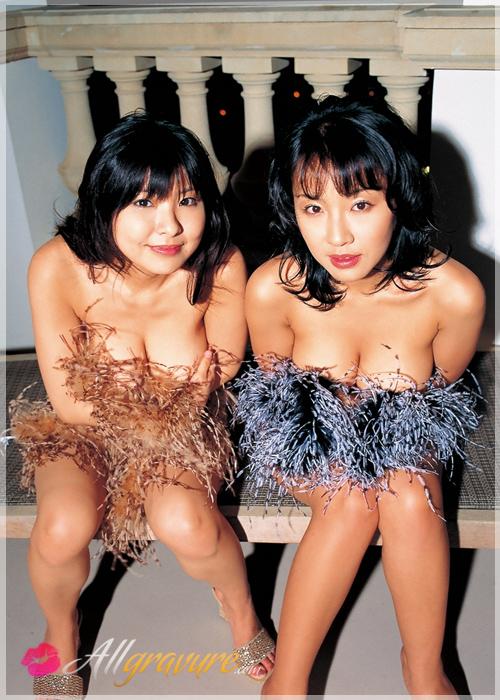 Megumi Kagurazaka & Miri Hanai - `Arrowhead` - for ALLGRAVURE