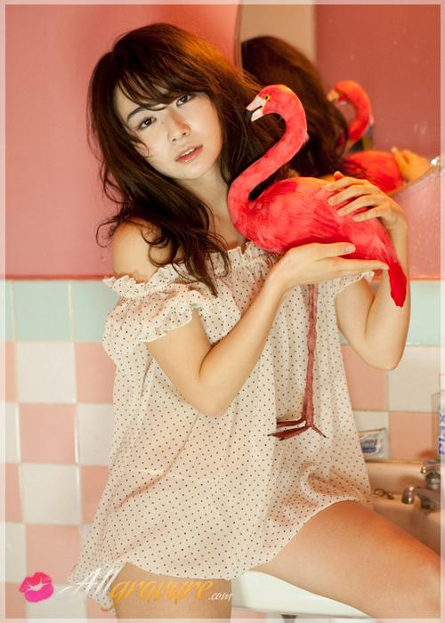 Nanako Tachibana - `Swan Girl` - for ALLGRAVURE