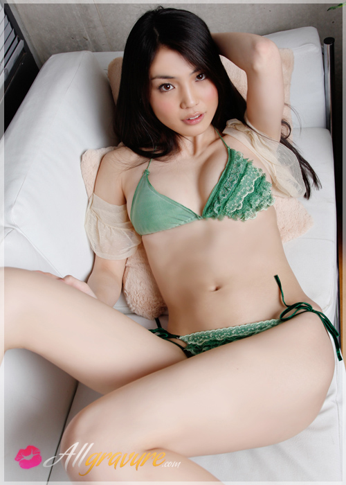 Risa Sawaki - `True Mint` - for ALLGRAVURE