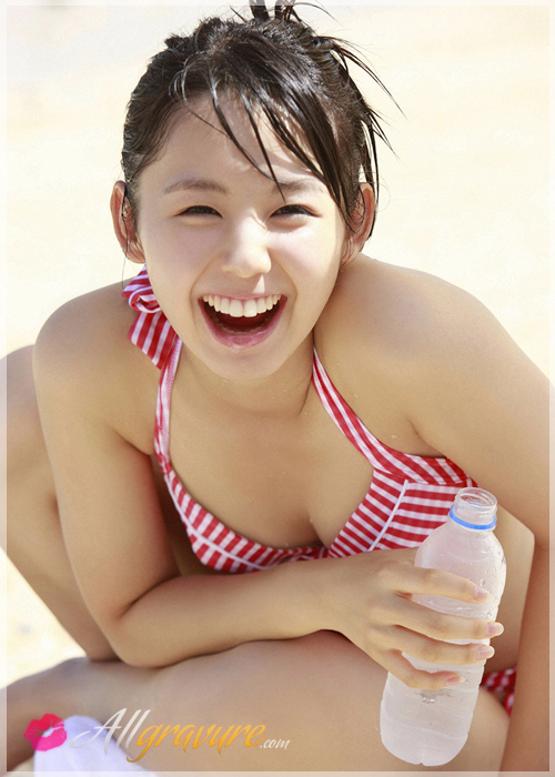 Rina Koike - `Beachside Cutie` - for ALLGRAVURE