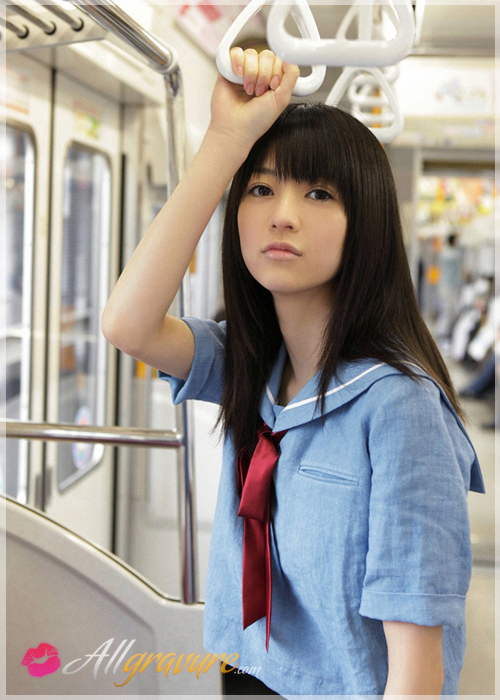 Rina Aizawa - `City Student` - for ALLGRAVURE