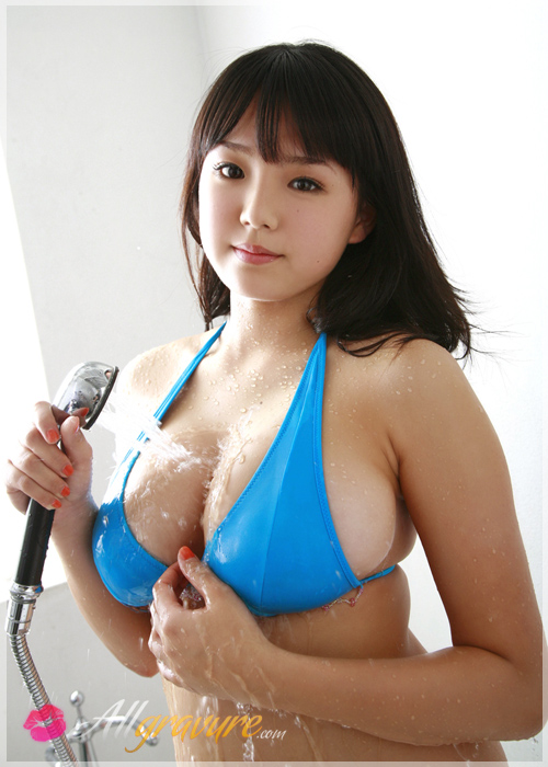 Ai Shinozaki - `Flower Bath` - for ALLGRAVURE