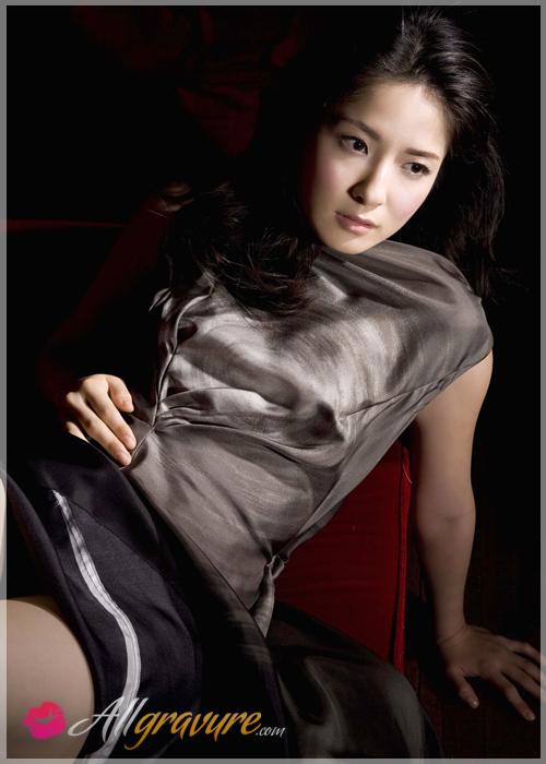 Rina Mastsuki - `Monochrome` - for ALLGRAVURE