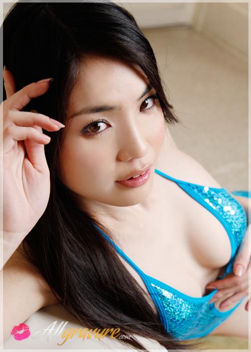Risa Sawaki - `Cerulean` - for ALLGRAVURE