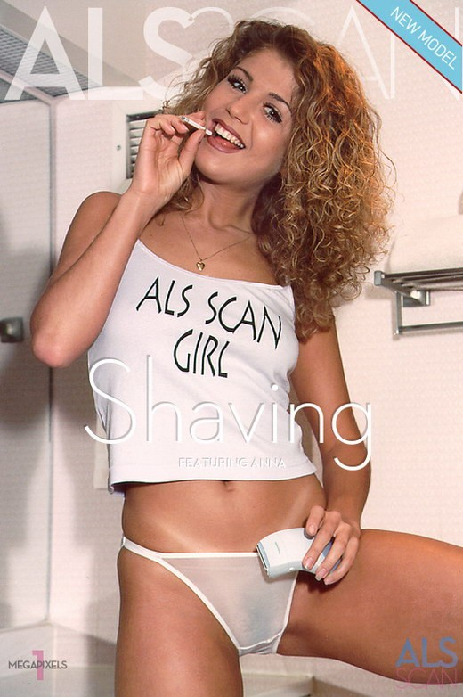 Anna - `Shaving` - for ALS ARCHIVE