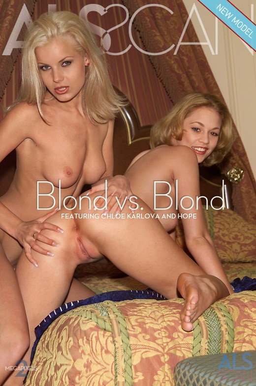 Chloe Karlova & Hope - `Blond vs. Blond` - for ALS ARCHIVE