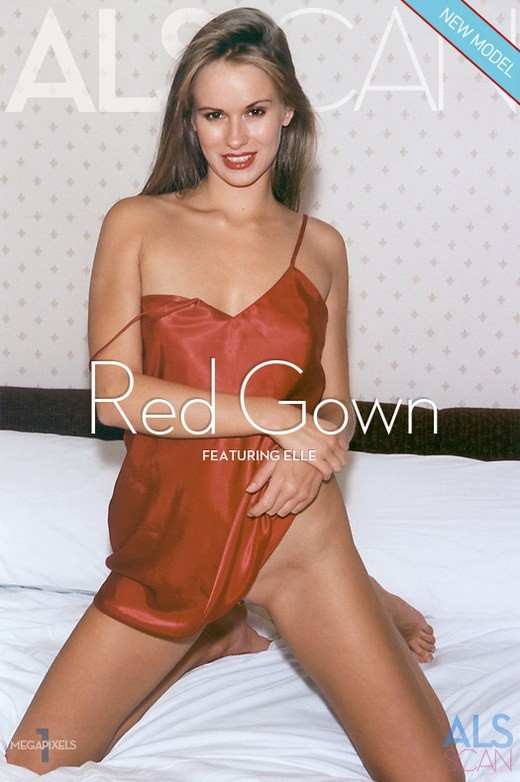 Elle - `Red Gown` - for ALS ARCHIVE
