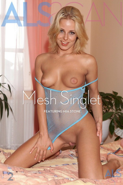 Mia Stone - `Mesh Singlet` - for ALS ARCHIVE