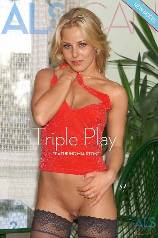 Mia Stone - `Triple Play` - for ALS ARCHIVE
