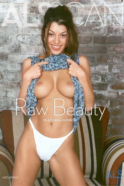 Monica - `Raw Beauty` - for ALS ARCHIVE