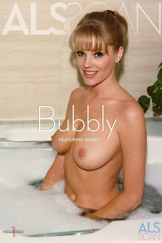 Wendy - `Bubbly` - for ALS ARCHIVE