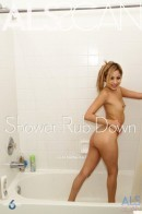 Kat in Shower Rub Down gallery from ALS SCAN