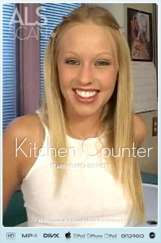 Brea Bennett - `Kitchen Counter` - for ALS SCAN