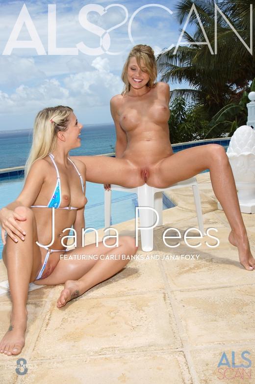 Carli Banks & Jana Foxy - `Jana Pees` - for ALS SCAN