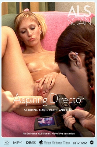 Amber Rayne & Tori - `Aspiring Director` - for ALS SCAN
