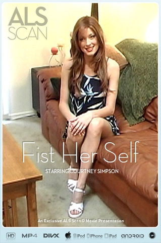 Courtney - `Fist Her Self ( Wrong model name on cover )` - for ALS SCAN