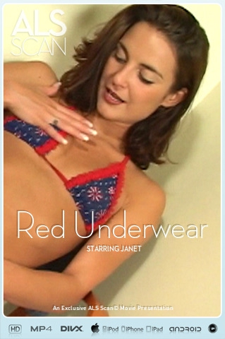 Janet - `Red Underwear` - for ALS SCAN