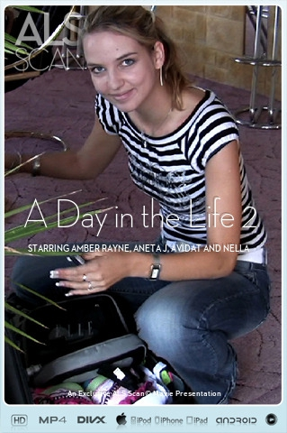 Amber Rayne & Aneta J & Avidat & Nella - `A Day in the Life 2` - for ALS SCAN