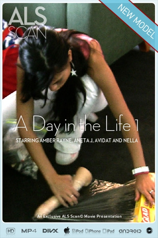 Amber Rayne & Aneta J & Avidat & Nella - `A Day in the Life 1` - for ALS SCAN