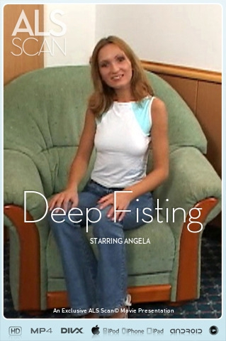Angela - `Deep Fisting` - for ALS SCAN