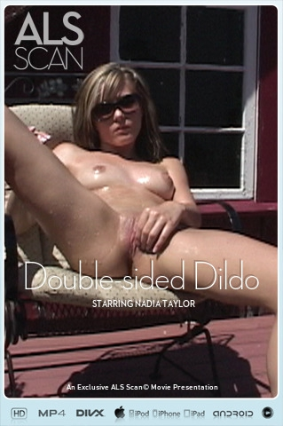 Nadia Taylor - `Double-sided Dildo` - for ALS SCAN