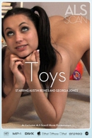 Austin Reines & Georgia Jones in Toys video from ALS SCAN
