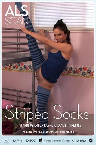 Amber Rayne & Austin Reines - `Striped Socks` - for ALS SCAN