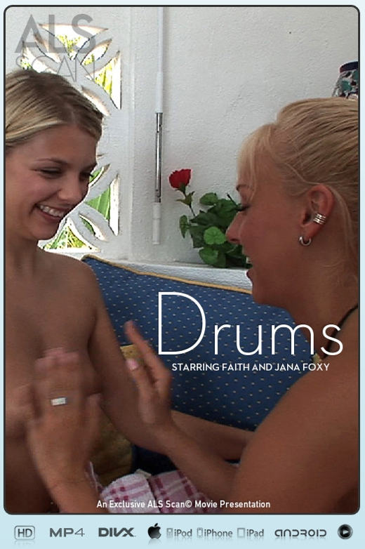 Faith & Jana Foxy - `Drums` - for ALS SCAN