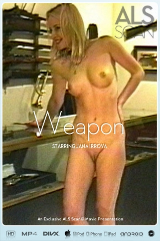 Jana Irrova - `Weapon` - for ALS SCAN