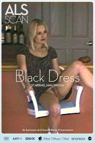 Jana Irrova - `Black Dress` - for ALS SCAN