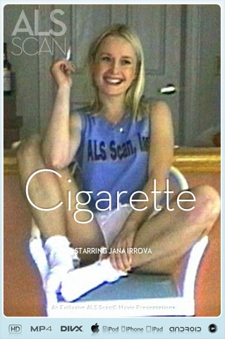 Jana Irrova - `Cigarette` - for ALS SCAN