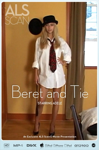 Adele - `Beret and Tie` - for ALS SCAN