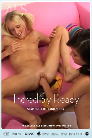 Faith & Nella - `Incredibly Ready` - for ALS SCAN