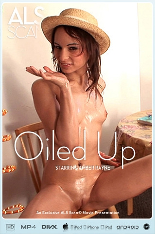 Amber Rayne - `Oiled Up` - for ALS SCAN