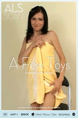 Tanita Black - `A Few Toys` - for ALS SCAN
