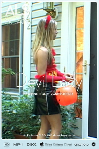 Leah Luv & Phoenix - `Devil Lady` - for ALS SCAN