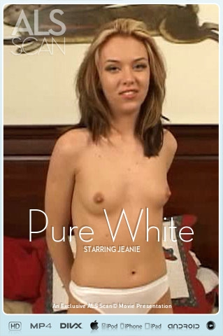 Jeanie - `Pure White` - for ALS SCAN
