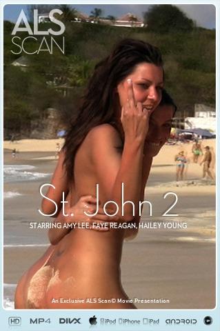 Amy Lee & Faye Reagan & Hailey Young & Kacey Jordan & Klaudia & Laura King - `St. John 2` - for ALS SCAN