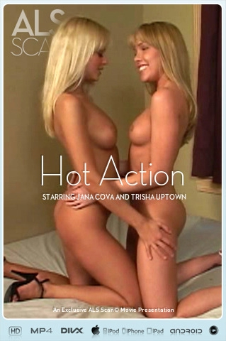 Jana Cova & Trisha Uptown - `Hot Action` - for ALS SCAN