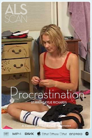 Kylie Richards - `Procrastination` - for ALS SCAN