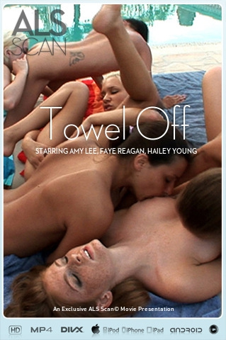 Amy Lee & Faye Reagan & Hailey Young & Kacey Jordan & Klaudia & Laura King - `Towel Off` - for ALS SCAN