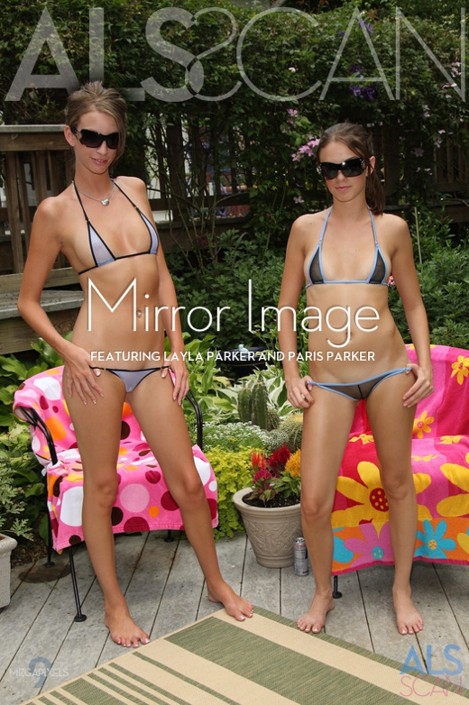 Layla Parker & Paris Parker - `Mirror Image` - for ALS SCAN